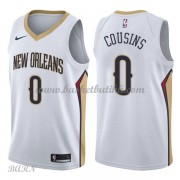 Barn Basketball Drakter New Orleans Pelicans 2018 DeMarcus Cousins 0# Association Edition Swingman..