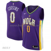 Barn Basketball Drakter New Orleans Pelicans 2018 DeMarcus Cousins 0# City Edition Swingman..