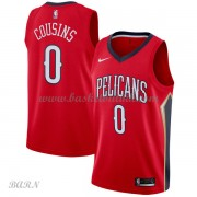 Barn Basketball Drakter New Orleans Pelicans 2018 DeMarcus Cousins 0# Statement Edition Swingman..