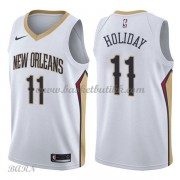 Barn Basketball Drakter New Orleans Pelicans 2018 Jrue Holiday 11# Association Edition Swingman..