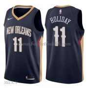Barn Basketball Drakter New Orleans Pelicans 2018 Jrue Holiday 11# Icon Edition Swingman..