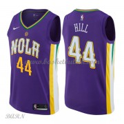 Barn Basketball Drakter New Orleans Pelicans 2018 Solomon Hill 44# City Edition Swingman..