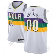Barn Basketball Drakter New Orleans Pelicans 2019-20 Hvit City Edition Swingman Drakt..