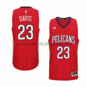 New Orleans Pelicans NBA Basketball Drakter 2015-16 Anthony Davis 23# Alternate Drakt..