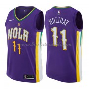 New Orleans Pelicans NBA Basketball Drakter 2018 Jrue Holiday 11# City Edition..