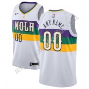 New Orleans Pelicans NBA Basketball Drakter 2019-20 Hvit City Edition Swingman Drakt..