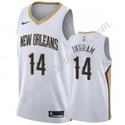 New Orleans Pelicans NBA Basketball Drakter 2019-20 Brandon Ingram 14# Hvit Association Edition Swin..