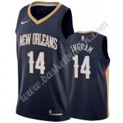 New Orleans Pelicans NBA Basketball Drakter 2019-20 Brandon Ingram 14# Marinen Icon Edition Swingman..