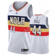 New Orleans Pelicans NBA Basketball Drakter 2019-20 Solomon Hill 44# Hvit Earned Edition Swingman Dr..