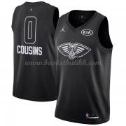 New Orleans Pelicans DeMarcus Cousins 0# Black 2018 All Star Game NBA Basketball Drakter..