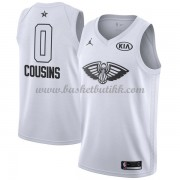 New Orleans Pelicans DeMarcus Cousins 0# Hvit 2018 All Star Game NBA Basketball Drakter..
