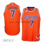 Barn Basketball Drakter New York Knicks 2015-16 Carmelo Anthony 7# Alternate..