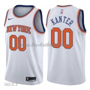 Barn Basketball Drakter New York Knicks 2018 Enes Kanter 0# Association Edition Swingman..