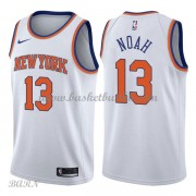 Barn Basketball Drakter New York Knicks 2018 Joakim Noah 13# Association Edition Swingman..