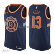 Barn Basketball Drakter New York Knicks 2018 Joakim Noah 13# City Edition Swingman..