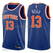 Barn Basketball Drakter New York Knicks 2018 Joakim Noah 13# Icon Edition Swingman..