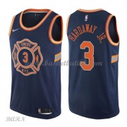 Barn Basketball Drakter New York Knicks 2018 Tim Hardaway Jr. 3# City Edition Swingman..
