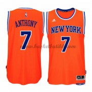 New York Knicks NBA Basketball Drakter 2015-16 Carmelo Anthony 7# Alternate Drakt..