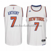 New York Knicks NBA Basketball Drakter 2015-16 Carmelo Anthony 7# Hjemme Drakt..