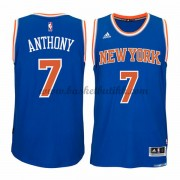 New York Knicks NBA Basketball Drakter 2015-16 Carmelo Anthony 7# Road Drakt..