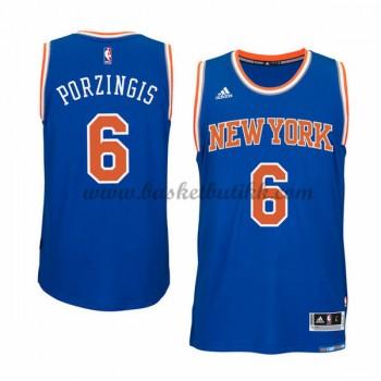 New York Knicks NBA Basketball Drakter 2015-16 Kristaps Porzingis 6# Road Drakt