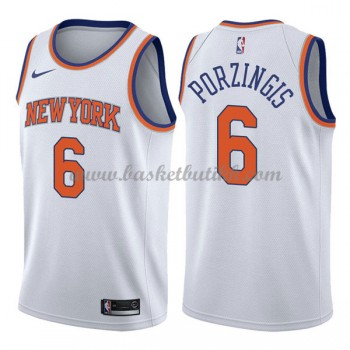 New York Knicks NBA Basketball Drakter 2018 Kristaps Porzingis 6# Association Edition