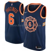 New York Knicks NBA Basketball Drakter 2018 Kristaps Porzingis 6# City Edition..