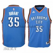 Barn Basketball Drakter Oklahoma City Thunder 2015-16 Kevin Durant 35# Road..