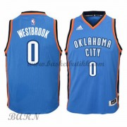 Barn Basketball Drakter Oklahoma City Thunder 2015-16 Russell Westbrook 0# Road..