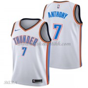 Barn Basketball Drakter Oklahoma City Thunder 2018 Carmelo Anthony 7# Association Edition Swingman..