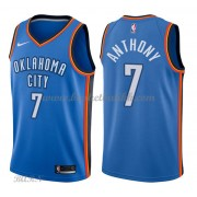 Barn Basketball Drakter Oklahoma City Thunder 2018 Carmelo Anthony 7# Icon Edition Swingman..