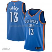 Barn Basketball Drakter Oklahoma City Thunder 2018 Paul George 13# Icon Edition Swingman..