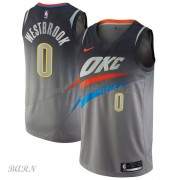 Barn Basketball Drakter Oklahoma City Thunder 2018 Russell Westbrook 0# City Edition Swingman..