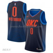 Barn Basketball Drakter Oklahoma City Thunder 2018 Russell Westbrook 0# Statement Edition Swingman..