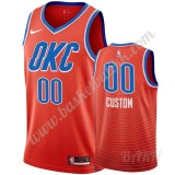 Barn Basketball Drakter Oklahoma City Thunder 2019-20 Oransje Statement Edition Swingman Drakt