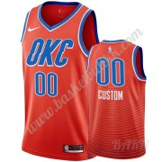 Barn Basketball Drakter Oklahoma City Thunder 2019-20 Oransje Statement Edition Swingman Drakt..