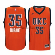 Oklahoma City Thunder 2015-16 Kevin Durant 35# Orange Alternate NBA Basketball Drakter..