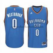 Oklahoma City Thunder NBA Basketball Drakter 2015-16 Russell Westbrook 0# Road Drakt..