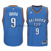 Oklahoma City Thunder NBA Basketball Drakter 2015-16 Serge Ibaka 9# Road Drakt..