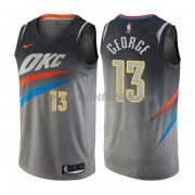 Oklahoma City Thunder NBA Basketball Drakter 2018 Paul George 13# City Edition..