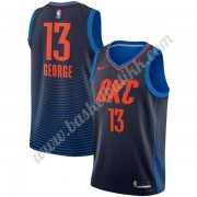 Oklahoma City Thunder NBA Basketball Drakter 2018 Paul George 13# Statement Edition..