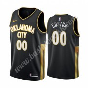 Oklahoma City Thunder NBA Basketball Drakter 2019-20 Svart City Edition Swingman Drakt..