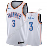Oklahoma City Thunder NBA Basketball Drakter 2019-20 Chris Paul 3# Hvit Association Edition Swingman..