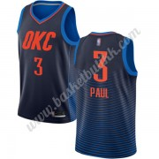 Oklahoma City Thunder NBA Basketball Drakter 2019-20 Chris Paul 3# Blå Statement Edition Swingman Dr..