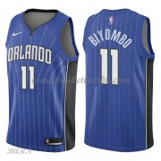 Barn Basketball Drakter Orlando Magic 2018 Bismack Biyombo 11# Icon Edition Swingman..