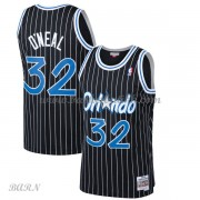 Barn Basketball Drakter Orlando Magic Kids 1994-95 Shaquille O'Neal 32# Black Hardwood Classics Swin..