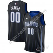 Barn Basketball Drakter Orlando Magic 2019-20 Aaron Gordon 00# Svart Statement Edition Swingman Drak..