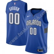Barn Basketball Drakter Orlando Magic 2019-20 Aaron Gordon 00# Blå Finished Statement Edition Swingm..