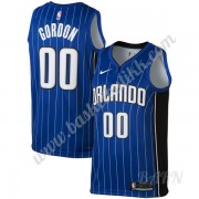 Barn Basketball Drakter Orlando Magic 2019-20 Aaron Gordon 00# Blå Icon Edition Swingman Drakt..