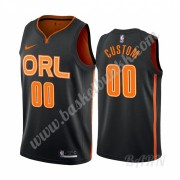 Barn Basketball Drakter Orlando Magic 2019-20 Svart City Edition Swingman Drakt..